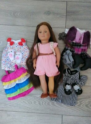 Our Generation Hairplay doll, Parker, good condition