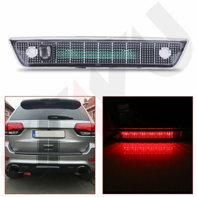 For 2005-2010 Jeep Grand Cherokee LED Third Brake Light Rear 3rd Stop Lamp Clear