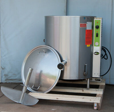 steam kettle 45 gallon gas Lolo by Groen stationary 2012