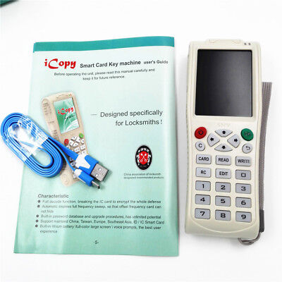 iCopy 3 with Full Decode Function Smart Card Key RFID NFC/ IC/ID Reader Copier