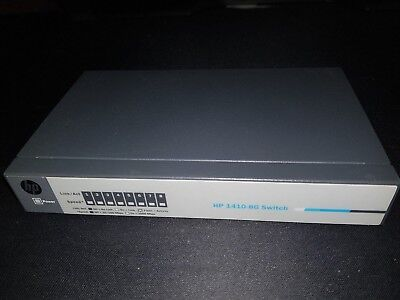 HP 1410-8G 8 port Gigabit Switch - J9559A - unmanaged Layer 2