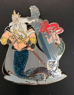 Disney Designer Collection LE Pin Arial And King Triton