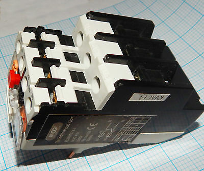 MCG DL2-10  thermal overload relay. 7-10amp 3 phase. New and unused
