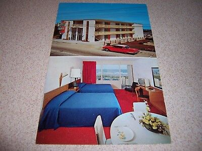1960s Holiday Sands Apartment Motel Myrtle Beach Sc Vtg Postcard