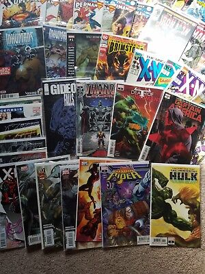 Marvel DC Image Comic Lot Fantastic Four Spider-Man Cosmic Ghost Rider X-Men