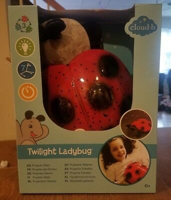 Cloud B Twilight Ladybug star constellation projection new Free Shipping!