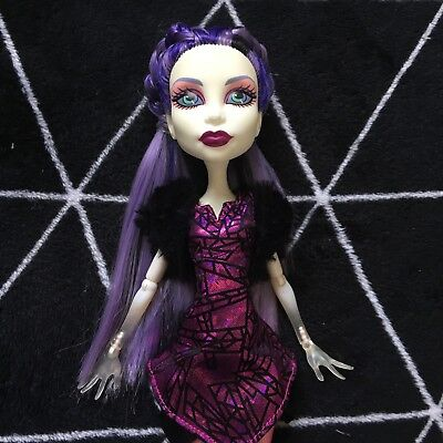 Monster High Doll - Spectra - Ghoul Sport - redressed - Great Condition