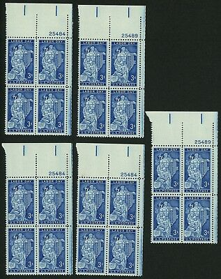 1956 3c US Postage Stamps Scott 1082 Labor Day Lot of 20