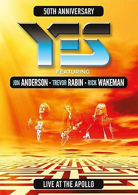 Yes featuring Anderson, Rabin, Wakeman - Live At The Apollo (DVD) NEW