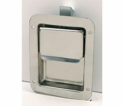 BUYERS PRODUCTS Stainless Steel Latch Flush-Mount Nonlocking Paddle 3VUR3 N3885