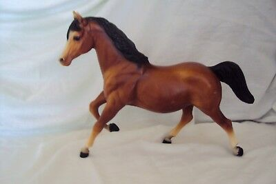 Vintage Breyer Molding Co USA Anglo-Arabian ?. Brown Standing Horse (LOOK)