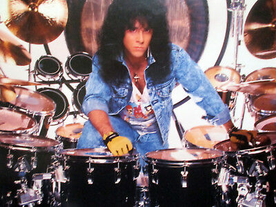 Two Different Ludwig Eric Carr, Kiss Posters, Crazy Nights & Hot In The Shade!