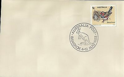 A1441cgt Australia 1983 4 August Bangkok '83 Philatelic Exhibition (APM 13690)
