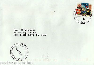 L0624cgt Australia SA Coomandook Postmark on cover
