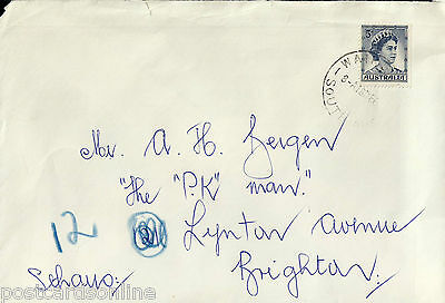 L1605cgt Australia SA Waikerie Postmark on cover