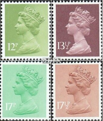 United Kingdom 821-824 (complete issue) unmounted mint / never hinged 1980 Queen