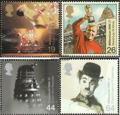 United Kingdom 1809-1812 mint never hinged mnh 1999 Entertainment