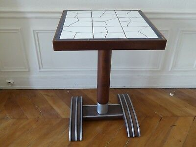 table bistrot gueridon art deco