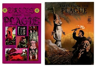 Tales from the Plague / 1971 - BOTH Printings! Richard Corben / VF- 7.5 & NM 9.4
