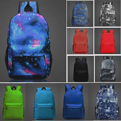 20 L Backpack Rucksack School Bag Student Book bag GLOW IN DARK Boys Girls