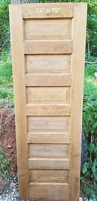 "24"" x 72"" Closet 6 raised panel pine door"
