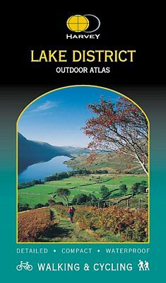 Lake District Outdoor Atlas by Harvey 1:40 000