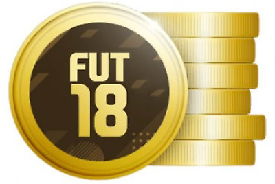 1.000.000 Fifa 18 Ultimate Team Coins - 1 Millionen FUT 18 Münzen, Playstation 4