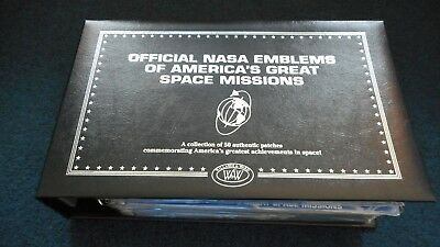 RARE Official NASA Emblems of American's Great Space Missions - Willabee & Ward