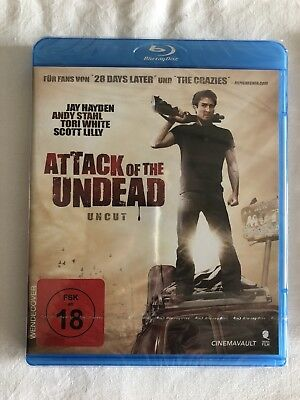 Attack Of The Undead - Uncut - Blu Ray - Neu & Ovp - Fsk18