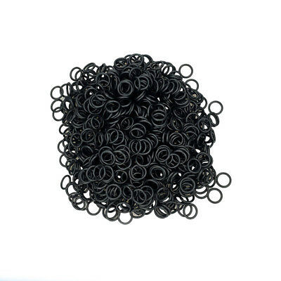 Black Nitrile Rubber O Rings 8x2mm to 80x2mm Metric Various Sizes Pack of 20/100