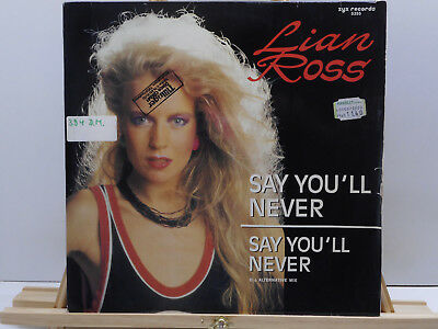"""Lian Ross - Say You'll Never (12"""") 3"""