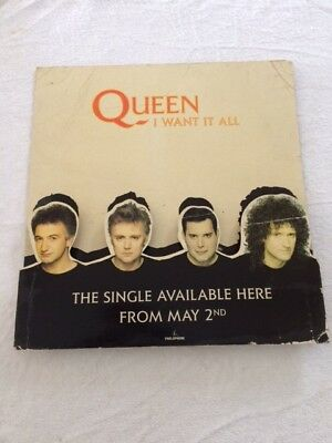 Queen   I Want It All     Counter Stand