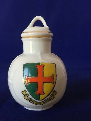 Vintage W H GOSS TINTERN ABBEY OLD WELSH MILK CAN Crested Ware China