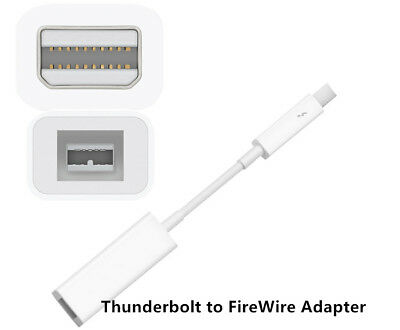 Thunderbolt to FireWire Adapter A1463 MD464ZM/A for Apple Mac Computer