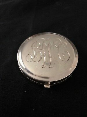 Tiffany 925 Sterling Silve Compact Mirror