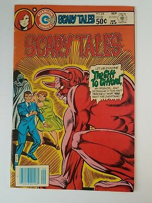 SCARY TALES #28 Charlton Comics 1975 Series. 3 Horror Comic stories 1 Vampire VF