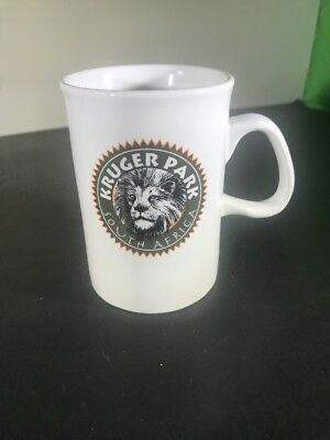 Kruger Park South Africa Coffee Mug Cup Lion
