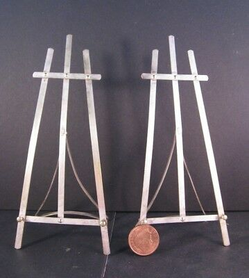 Miniature display easels 1920s