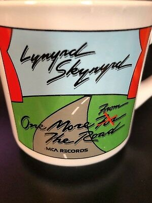 """LYNYRD SKYNYRD """"One More From the Road"""" MUG from MCA Records"""