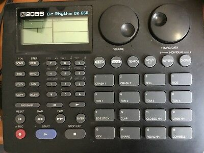 Boss Dr-660,Drum Computer