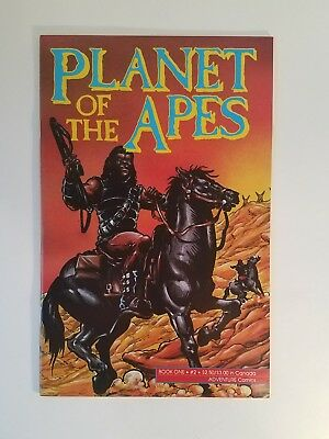 PLANET OF THE APES #2 (Adventure Comics Vol. 1 1990 Series) New Movie! VF/NM