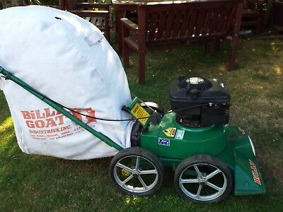 BILLY GOAT KB50 COMMERCIAL VACUUM (petrol). SHROPSHIRE.