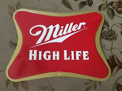 Vintage Miller High Life Beer Sign