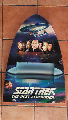 Star Trek TNG The Next Generation Aufsteller Display für DVD Hardbox Trekkie RAR