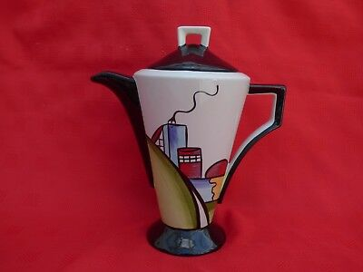 Lorna Bailey Coffee Pot - Deco House, Signed