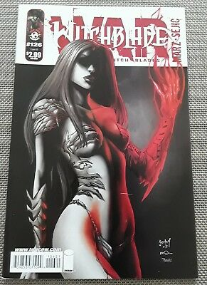 WITCHBLADE  #126 / TOP COW / Variant Cover B /sexy