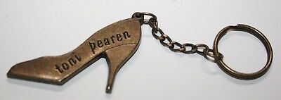 TONI PEAREN 'Walkaway Lover' Keyring Metal Shoe 1994 SINGLE PROMO ITEM -Intimate