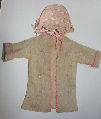 Vintage Baby/ Doll Sweater and Bonnet