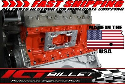 LS Mounting Base Plates (for Remote Coil Brackets on Engine Block) LS1 LS3 LSX