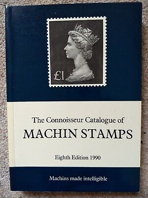 The Connoisseur Catalogue Of Machin Stamps 1990 edition.